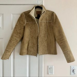 Ralph Lauren Dry Goods Fax Shearling Coat Slim Fit
